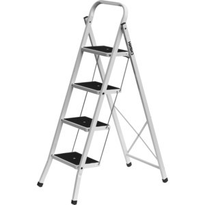 Лестница-стремянка Сибин широкие ступени, 4 (38807-04)
