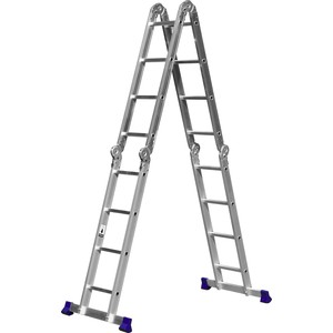Лестница-трансформер Сибин 4х4 (38852) фундамент для бани 4х4