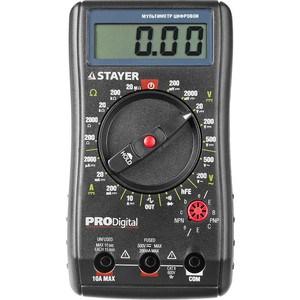 Мультиметр цифровой Stayer Professional PRODigital (45310) мультиметр stayer 45320 t
