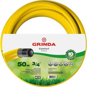 Фотография товара шланг Grinda Comfort поливочный, 25 атм., 3/4х50м (8-429003-3/4-50_z02) (668810)