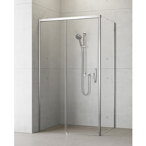 Фотография товара душевая дверь Radaway Idea KDJ/L 140x2005 (387044-01-01L) стекло прозрачное (668912)