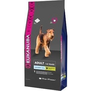 цены Сухой корм Eukanuba Adult Dog Large Breed Rich in Chicken с курицей для взрослых собак крупных пород 15кг