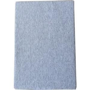 Простыня Arloni на резинке 90х200 см (ЛСПР-90/4 серый меланж)