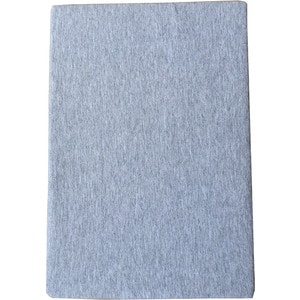 Простыня Arloni на резинке 180х200 см (ЛСПР-180/4 серый меланж)