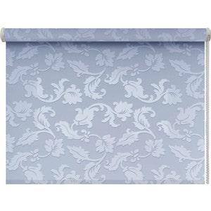 Рулонные шторы DDA Вояж (жаккард) Голубой 37x170 см