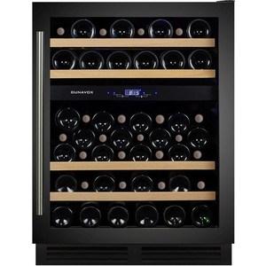 Винный шкаф Dunavox DX-53.130DBK/DP винный шкаф dunavox dx 19 58bk dp