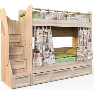 Кровать СКАНД-МЕБЕЛЬ Шервуд КШ 2-2 кровать сканд мебель кембридж 2