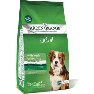 Сухой корм ARDEN GRANGE Adult Dog Hypoallergenic with Fresh Lamb&Rice гипоалергенный с ягненком и рисом для взрослых собак 15кг (AG604161) сухой корм happy dog mini adult 1 10kg neuseeland lamb