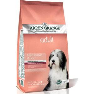 Сухой корм ARDEN GRANGE Adult Dog Hypoallergenic with Fresh Salmon&Rice гипоалергенный с лососем и рисом для взрослых собак 2кг (AG605281)