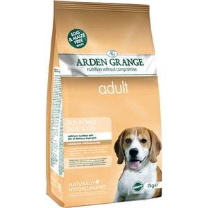 Сухой корм ARDEN GRANGE Adult Dog Hypoallergenic Rich in Fresh Pork&Rice гипоалергенный со свининой и рисом для взрослых собак 2кг (AG626286) сухой корм royal canin hypoallergenic dr21 canine диета при пищевой аллергии для собак 2кг 602020