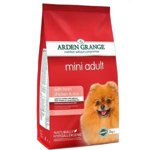 Сухой корм ARDEN GRANGE Adult Dog Mini Hypoallergenic with Fresh Chicken&Rice гипоалергенный с курицей и рисом для собак мелких пород 2кг (AG631280) цена