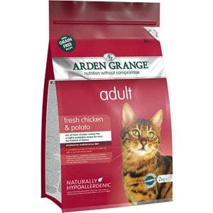 ag825016 arden grange Сухой корм ARDEN GRANGE Adult Cat Grain Free Fresh Chicken&Potato беззерновой с курицей и картофелем для взрослых кошек 4кг (AG612364)