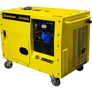 Генератор бензиновый Champion GG7500ES генератор бензиновый tss sgg 7500e