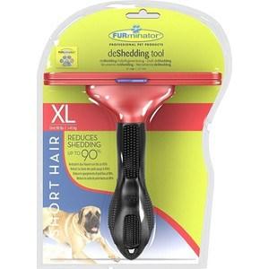 Фурминатор FURminator deShedding Tool Short Hair XL Giant Dog для короткошерстных собак гигантских пород 13см фурминатор furminator deshedding tool long hair s small dog для длинношерстных собак мелких пород 4см