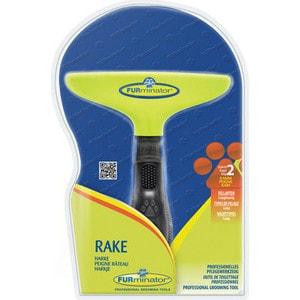 Гребень FURminator Rake с вращающимися зубцами 18мм насадка furminator furflex fur accumulator all hair для сбора шерсти любой длины