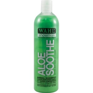 Шампунь Moser Wahl Aloe Soothe концентрированный с алое для животных 500мл