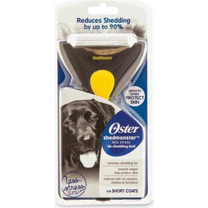 Фурминатор Oster deShedding Tool Shedmonster Less Stress for Short Coats для короткошертсных собак респиратор зубр эксперт 11162