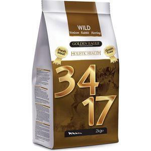 Сухой корм Golden Eagle Holistic Health Grain Free Wild 34/17 Venison, Rabbit&Herring беззерновой с олениной, кроликом и сельдью для собак 2кг (235272)