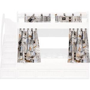Занавески большие СКАНД-МЕБЕЛЬ Баунти ЗББ-01 стеллаж сканд мебель корсар 1