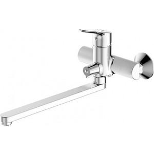 Смеситель для ванны Bravat Drop (F64898C-L)  смеситель для ванны коллекция drop f64898c l однорычажный хром bravat брават