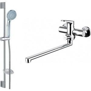 Комплект для ванной комнаты Bravat Eler 2 в 1 (F00449CP) bravat 200 см p7232cp 1