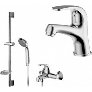 Комплект для ванной комнаты Bravat Fit 3 в 1 (F00315C) брелок для сигнализации centurion tango v 3 twist v 3