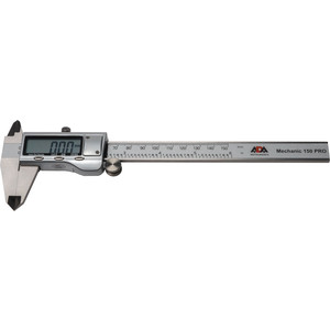 Штангенциркуль цифровой ADA Mechanic 150 PRO (А00380) цифровой уровень угломер ada pro digit rumb а00481