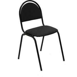 Стул Союз мебель СМ 8 каркас черный ткань серая 2 шт кресло союз мебель сеньор гтс ткань детская