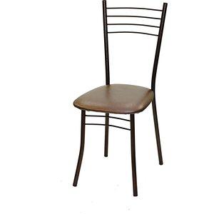 Стул Союз мебель Нефертити каркас антик медь экокожа коричневый перламутр 2 шт садовая мебель стул 50 43 89см