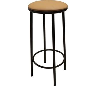 Стул Союз мебель Стул Барный СБ 4 каркас антик медь экокожа бежевая 2 шт. мебель салона стул мастера кайло 29 цветов