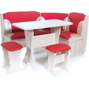Набор мебели для кухни Бител ОРХИДЕЯ - комби (ясень, Т.эф.-112 + С-101, ясень)