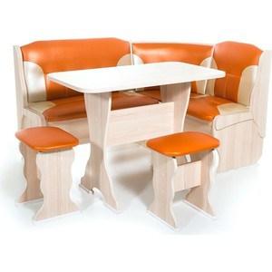 Набор мебели для кухни Бител ОРХИДЕЯ - комби (ясень, С.-120 + С.-101, ясень)