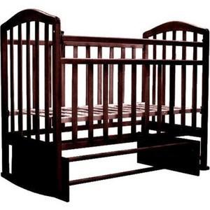 Кровать детская Антел Алита (5) а/с, продольного качания махагон Алита-5 махагон