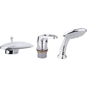 Смеситель Timo Standard Tugela на борт ванны, хром (3020Y chrome) душевая система timo nelson для ванны хром sx 1290 00 chrome
