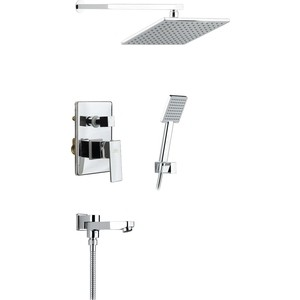 Душевая система Timo Selene для ванны встраиваемая, хром (SX- 3069/00SM (1113) chrome) душевая система timo selene для ванны хром sx 1013z chrome