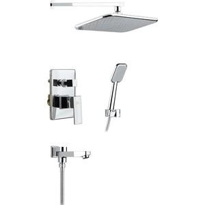 Душевая система Timo Selene для ванны встраиваемая, хром (SX- 3069/00SM (1013) chrome) душевая система timo beverly sx 1060 chrome