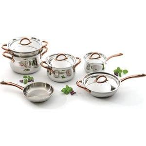 Набор посуды 11 предметов BergHOFF Studio (1111004) кастрюля с крышкой 26 см 10 л berghoff zeno 1102184