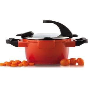 Фотография товара кастрюля с крышкой 16 см 1.5 л BergHOFF Virgo Orange (2304900) (672921)