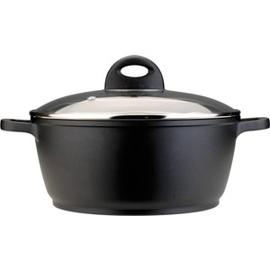 Кастрюля с крышкой 28 см 6 л BergHOFF CooknCo (2801253) сито 27x12x5 см berghoff cooknco 2800033