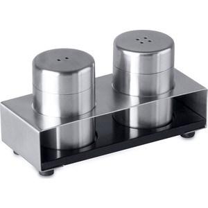 Набор для соли и перца на подставке 3 предмета BergHOFF Cubo (1109329) набор для соли и перца sinoglass подсолнухи тосканы 2 предмета