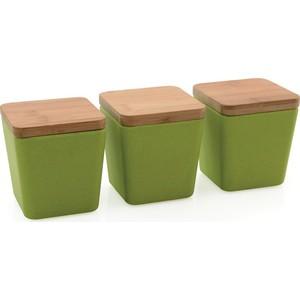 Набор емкостей для хранения 3 предмета BergHOFF CooknCo салатовая (2800059)