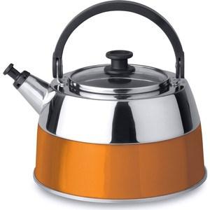 Чайник со свистком 2.5 л BergHOFF Virgo Orange (2304168) berghoff сковорода гриль 24см virgo orange