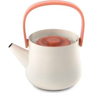 Фотография товара чайник 2в1 для плиты и заварочный 1 л BergHOFF Ron белый (3900048) (673536)