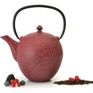 Заварочный чайник чугунный 1.1 л BergHOFF Studio красный (1107044) набор чашек 2 предмета 0 2 л berghoff studio лаймовые 1106840