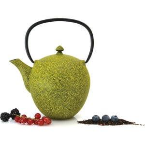 Фотография товара заварочный чайник чугунный 1.1 л BergHOFF Studio лаймовый (1107045) (673546)