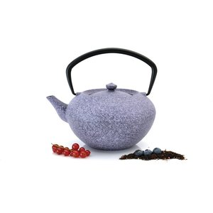 Заварочный чайник чугунный 1.3 л BergHOFF Studio фиолетовый (1107049) dimma fashion studio платье валери фиолетовый