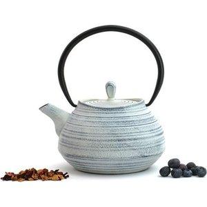Заварочный чайник чугунный 1.1 л BergHOFF Studio белый (1107114)  барбекю гриль berghoff studio настольный цвет белый диаметр 35 см