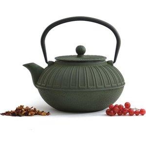 Заварочный чайник чугунный 1.5 л BergHOFF Studio зеленый (1107120) набор чашек 2 предмета 0 2 л berghoff studio лаймовые 1106840