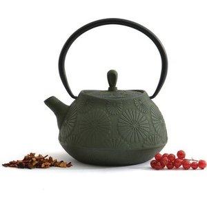 Заварочный чайник чугунный 1.1 л BergHOFF Studio зеленый (1107122) туфли studio w klingel цвет зеленый серебристый рисунок
