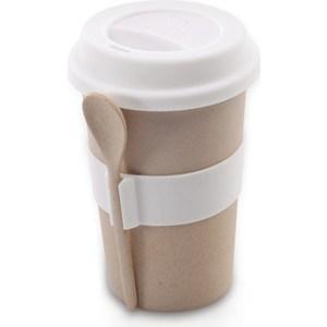 Кружка для кофе с ложкой 0.5 л BergHOFF CooknCo бежевая (2800056)